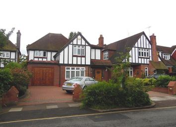 Thumbnail 4 bed detached house for sale in Meadway, Southgate, London