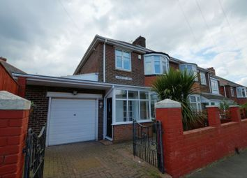 Thumbnail 3 bedroom semi-detached house for sale in Lanercost Drive, Fenham, Newcastle Upon Tyne