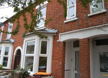 Thumbnail 3 bedroom terraced house to rent in St Pauls Road, Bedford