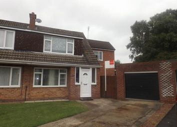 Thumbnail 3 bed semi-detached house for sale in Rothley Close, Ponteland, Newcastle Upon Tyne, Northumberland