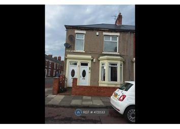 Thumbnail 2 bed flat to rent in Gladstone Street, Hebburn