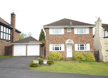 Thumbnail 4 bed detached house for sale in Melksham Close, Lower Earley, Reading