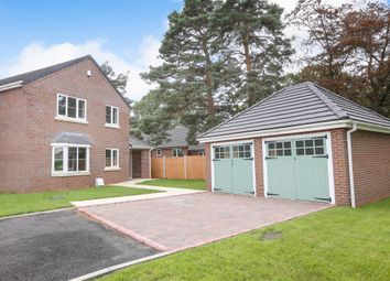 Thumbnail 4 bedroom detached house for sale in Wood Road, Codsall, Wolverhampton