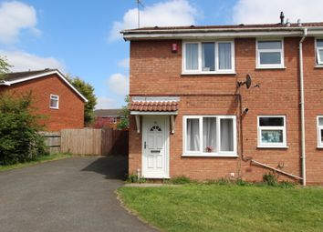 Thumbnail 1 bed semi-detached house to rent in Packwood Close, Willenhall