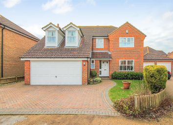 Thumbnail 5 bedroom detached house for sale in Ealham Close, Canterbury