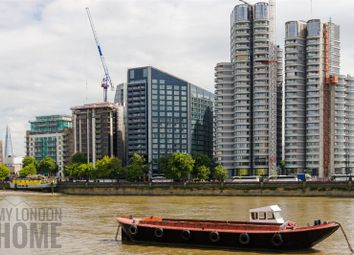 Thumbnail 2 bed flat for sale in The Corniche, Tower Two, 20-21 Albert Embankmen, London