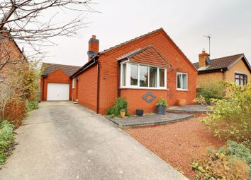 Thumbnail 3 bed detached bungalow for sale in Lincoln Close, Crowle, Scunthorpe