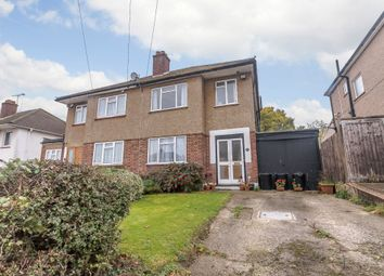 Thumbnail 3 bed semi-detached house for sale in Rochester Road, Northwood