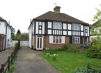 Thumbnail 3 bed semi-detached house for sale in Oaklands Avenue, Watford