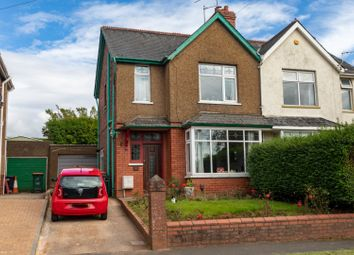 Thumbnail 3 bedroom semi-detached house for sale in Cornwall Road, Newport