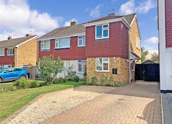 Wilberforce Road, Coxheath, Maidstone, Kent ME17. 3 bed semi-detached house