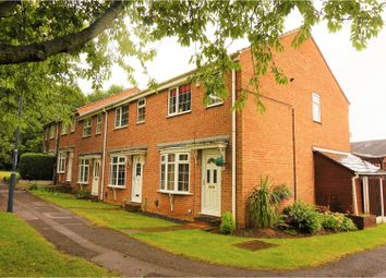 Thumbnail 3 bedroom end terrace house for sale in Burdock Close, Derby