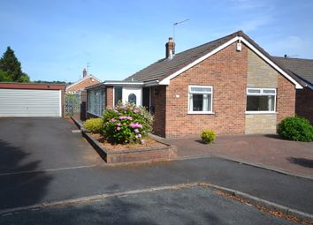 Thumbnail 2 bed detached bungalow for sale in Edale Close, Newcastle-Under-Lyme