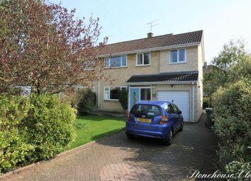 Thumbnail 4 bed semi-detached house for sale in Stonehouse Close, Bath