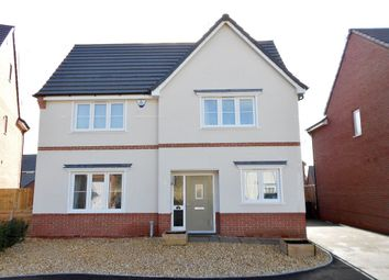 Thumbnail 4 bed detached house for sale in Moss Wood Court, New Broughton, Wrexham