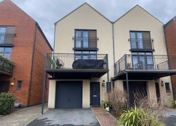 Thumbnail 3 bed town house for sale in Yr Hafan, Marina, Swansea