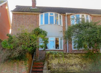 Thumbnail 3 bed semi-detached house for sale in Spring Gardens, Lewes