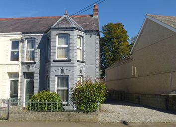 Thumbnail 3 bed semi-detached house for sale in College Street, Ammanford, Carmarthenshire.