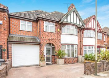 Thumbnail 4 bed semi-detached house for sale in Staveley Road, Evington, Leicester