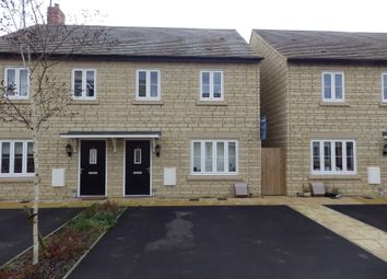 Thumbnail 3 bed semi-detached house to rent in Crista Place, Carterton, Oxfordshire