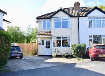 Thumbnail 3 bedroom semi-detached house for sale in Woodfield Close, Ashtead