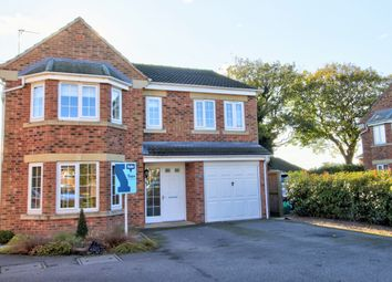 Thumbnail 4 bedroom detached house for sale in Paver Drive, Brayton, Selby