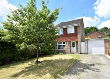 Thumbnail 3 bed semi-detached house for sale in Yaverland Drive, Bagshot, Surrey