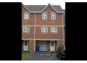 Thumbnail 4 bed terraced house to rent in Black Eagle Court, Burton-On-Trent