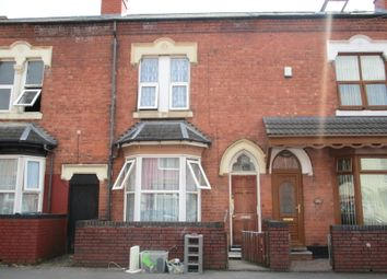 Thumbnail 4 bed shared accommodation to rent in Ettington Road, Aston, Birmingham