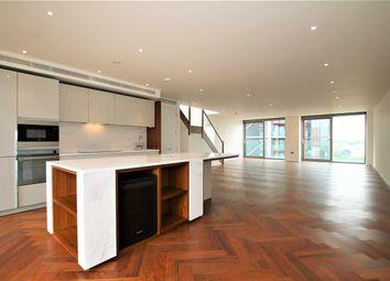 Thumbnail 3 bedroom flat to rent in Capital Building, Embassy Gardens, Battersea