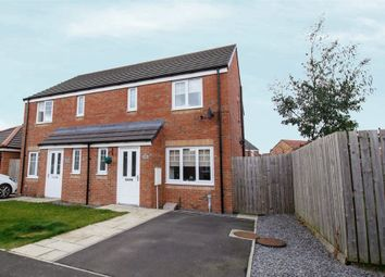 Thumbnail 3 bed semi-detached house for sale in Kirkharle Crescent, Ashington, Northumberland