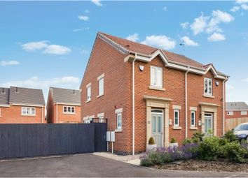Thumbnail 2 bed semi-detached house for sale in Dalby Green Close, Ripley