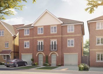 "Thumbnail 4 bedroom semi-detached house for sale in ""The Highgrove"" at Hersham Road, Hersham"