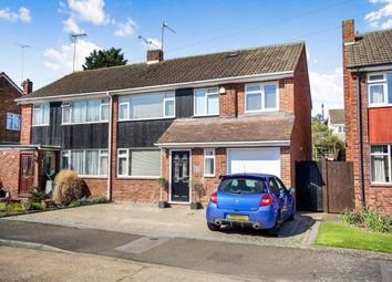 Thumbnail 4 bed semi-detached house for sale in Brookside Road, Istead Rise, Gravesend, Kent