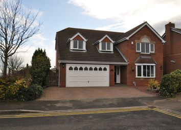 Thumbnail 4 bedroom detached house for sale in Helm Drive, Victoria Dock, Hull