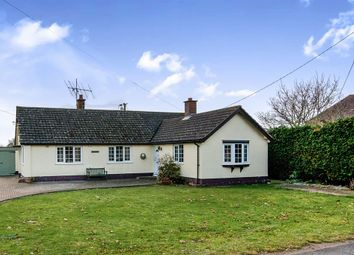 Thumbnail 4 bedroom detached bungalow for sale in Chapel Road, Stanningfield, Bury St. Edmunds
