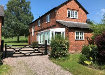 Thumbnail 3 bed detached house to rent in Norley Road, Cuddington, Northwich, Cheshire