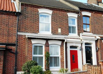 Thumbnail 3 bed terraced house to rent in Hill House Road, Norwich, Norfolk