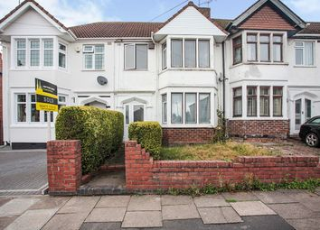 Thumbnail 4 bed terraced house for sale in Tennyson Road, Coventry, West Midlands