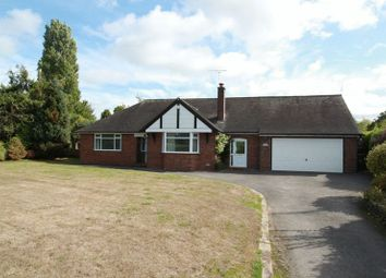 Thumbnail 2 bed detached bungalow for sale in Newcastle Road, Balterley, Crewe