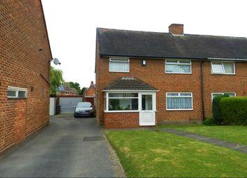 Thumbnail 3 bed semi-detached house for sale in Hemlingford Road, Kingshurst, Birmingham