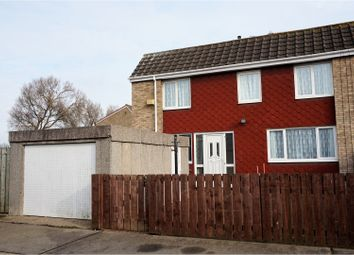 Thumbnail 3 bed end terrace house for sale in Sandford Close, Hull