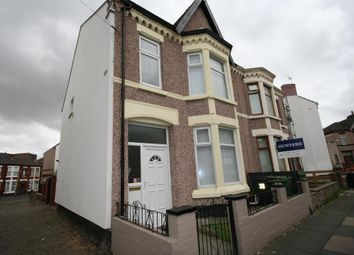 Thumbnail 3 bed semi-detached house for sale in Edith Road, Wallasey