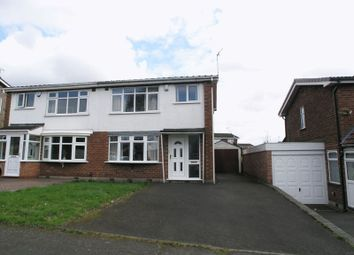 Thumbnail 3 bed semi-detached house for sale in Dudley, Netherton, Lombard Avenue