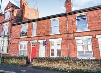 Thumbnail 2 bed terraced house for sale in Hartley Road, Nottingham