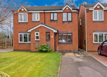 Thumbnail 2 bedroom semi-detached house for sale in Chequers Court, Norton Canes, Cannock