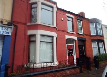 Thumbnail 4 bed terraced house for sale in Derby Lane, Liverpool, Merseyside