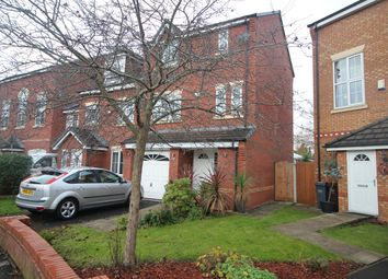 Thumbnail 3 bed town house for sale in Chelsfield Grove, Manchester