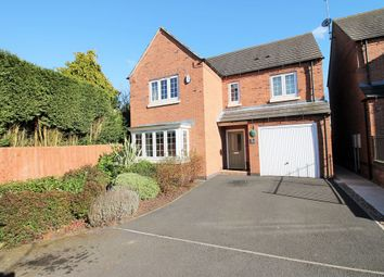 Thumbnail 4 bed detached house for sale in White Lady Court, Chapel Lane, Ravenshead, Nottingham