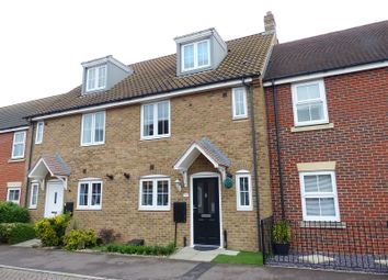 Thumbnail 4 bed town house for sale in Bellflower Drive, Yaxley, Peterborough, Cambridgeshire.